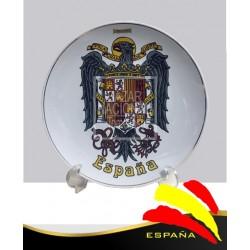 Plato Águila de San Juan en Color