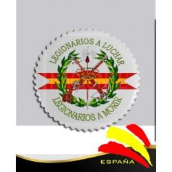 Imán Cerámica Legión Española