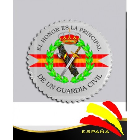 Imán Cerámica Guardia Civil