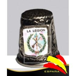 Dedal Metálico Legión Española