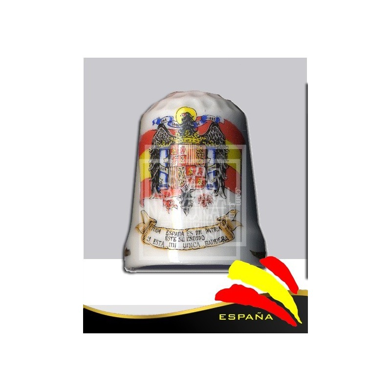 Dedal Porcelana Águila de San Juan