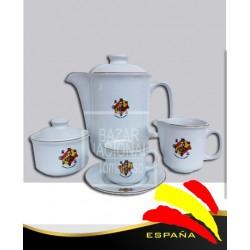 Juego Café Francisco Franco Bahamonde