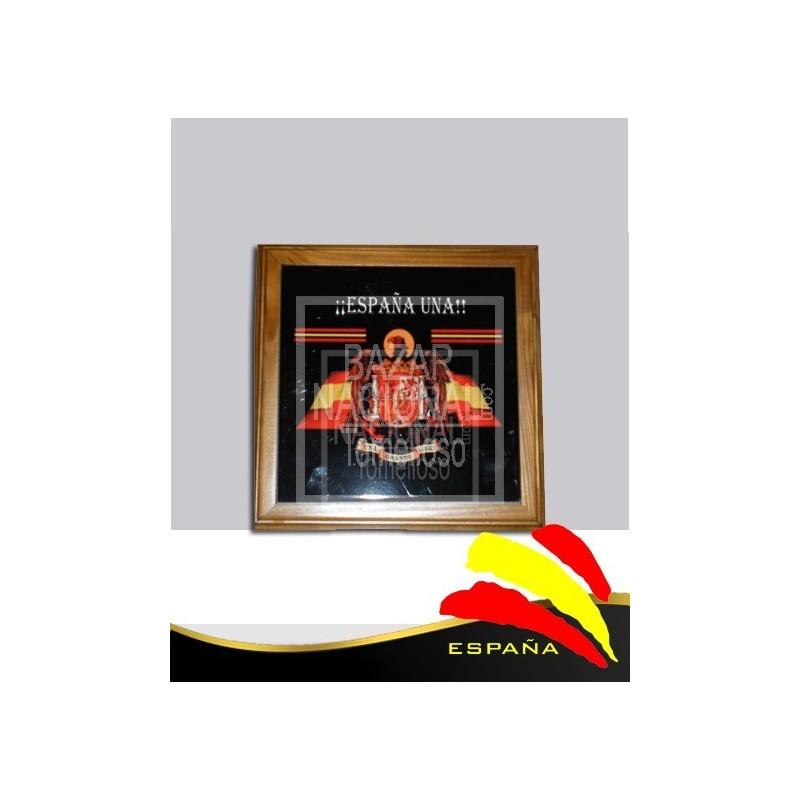 Salvamantel cuadrado Águila de SAn Juan