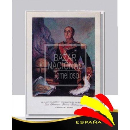 Lámina Francisco Franco 41x56
