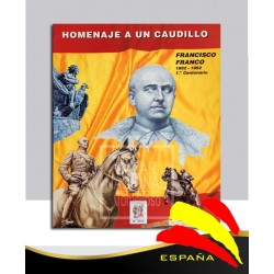 Carpeta Homenaje a Francisco Franco