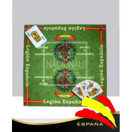 Tapete Cartas Legión Española