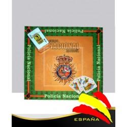 Tapete Cartas Policía Nacional