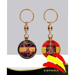 Llavero metálico Legión Española