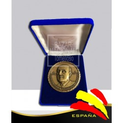 Moneda Bronce Francisco Franco