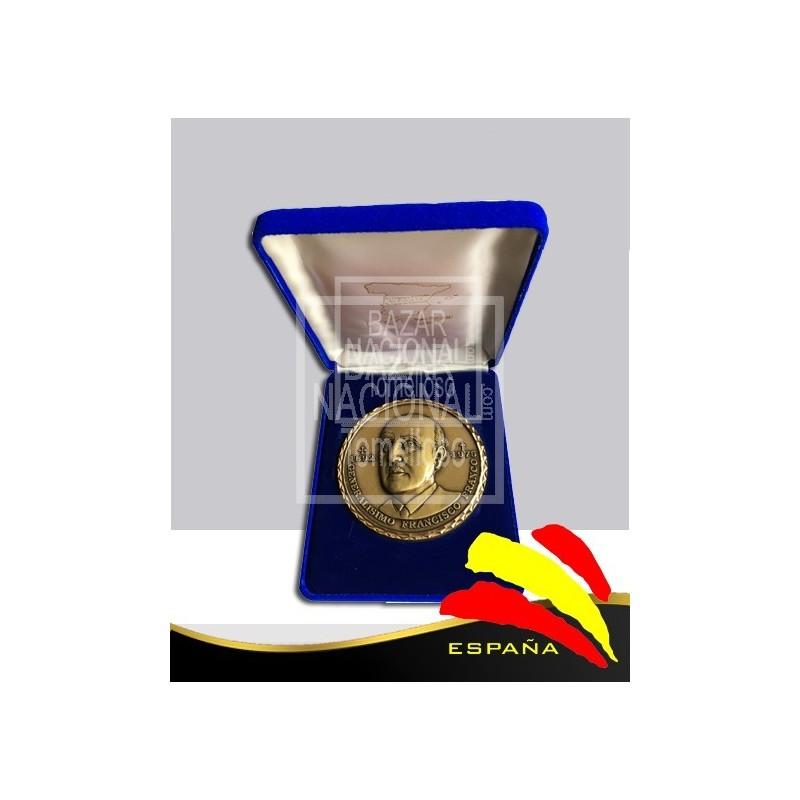Moneda Bronce Francisco Franco