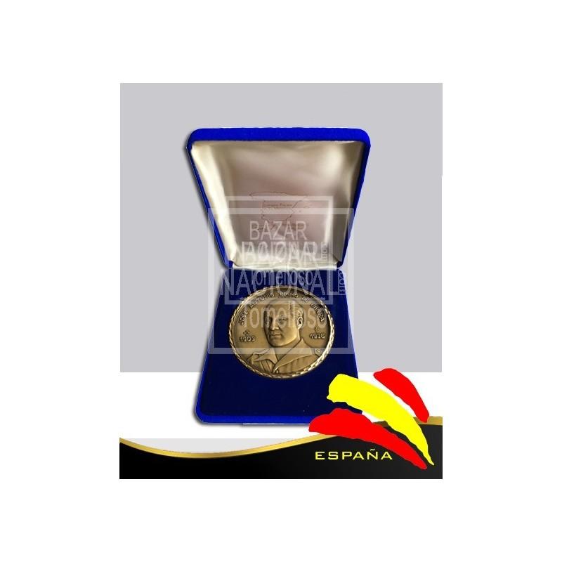 Moneda Bronce José antonio Primo de Rivera