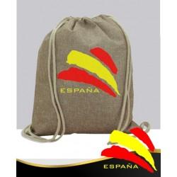 Mochila Yute Bandera de España