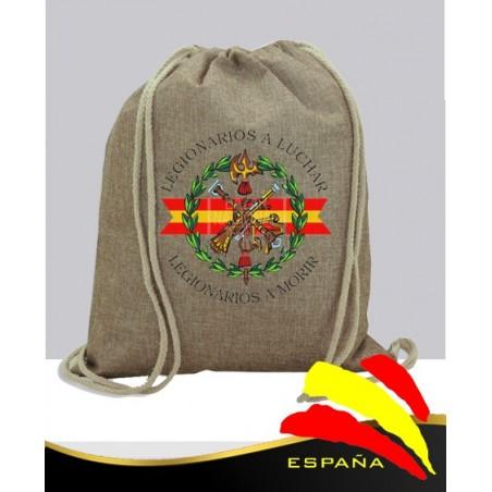 Mochila Yute Legión Española