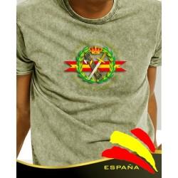 Camiseta degradada verde Guardia Civil Central
