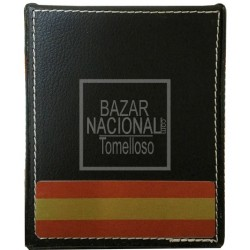Porta Lápices Negro Bandera