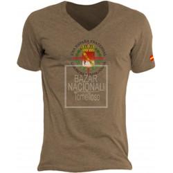 Camiseta Color Tabaco Escudo Casa Civil en el Centro