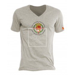 Camiseta Color Gris Escudo Casa Civil Central