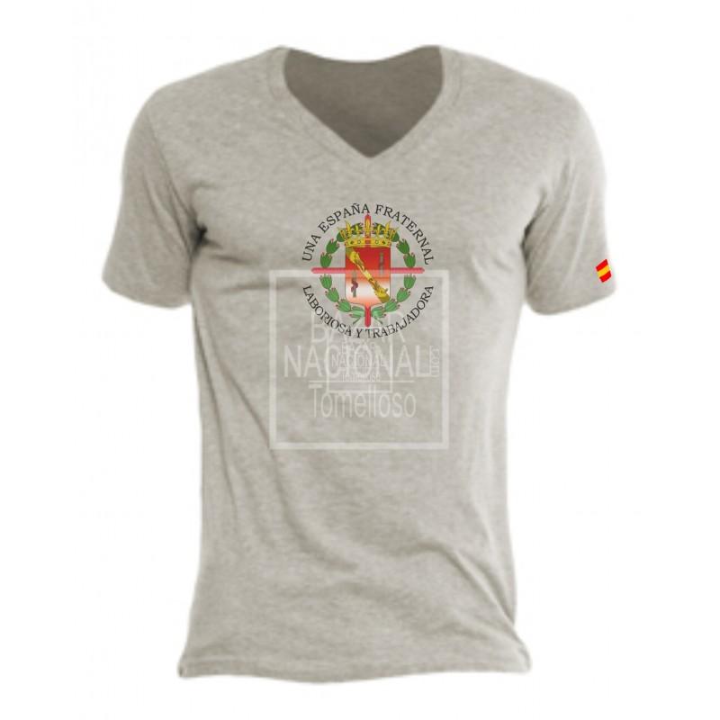 Camiseta Color Gris Escudo Casa Civil Central