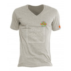 Camiseta Gris Guardia Civil Bolsillo