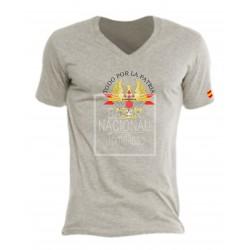 Camiseta Gris Ejércitos  España Central