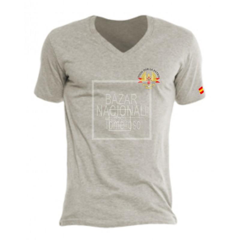 Camiseta Gris Ejércitos de España en Bolsillo