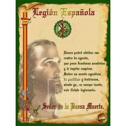 Cerámica Legión Española