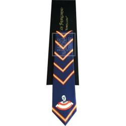 Corbata Azul Marino Francisco Franco