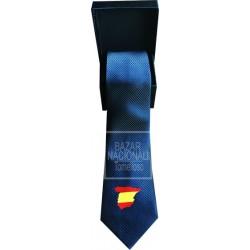 Corbata Azul Marino Mapa de España