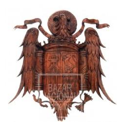 Talla Madera Águila de San Juan