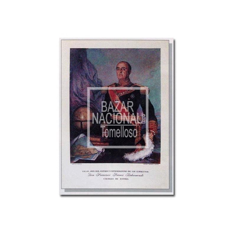 Lámina Francisco Franco Gala 64x88