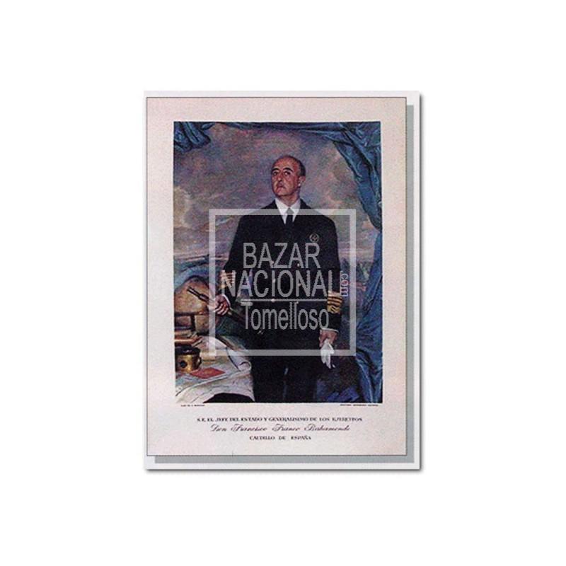 Lámina Francisco Franco Marino 41x56