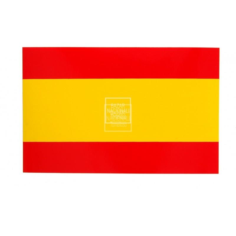 Adhesivo Bandera España Anónima